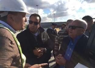 محافظ بورسعيد وممثلو برلمان الشباب يتفقدون المشاريع التنموية بمحور قناة السويس