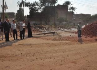 محافظ أسيوط يترأس حملة إزالة بشوارع منفلوط.. ويوقف رئيس قرية عن العمل
