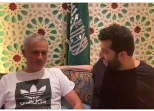 فيديو.. تركي آل الشيخ يستضيف مورينيو: أحلم بشخص مثلك يدرب في السعودية
