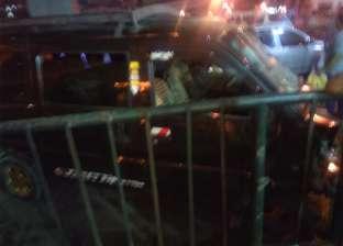 الشرطة تستجوب المتسبب في قتل طفل وصدم 5 سيارات بميدان رمسيس