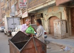 """رئيس """"إنقاذ مرضى الصعيد"""": توزيع 100 شنطة رمضانية بشوارع وميادين أسيوط"""
