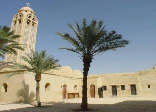 دير الأنبا صموئيل فى المنيا يؤجل الزيارات لحين انتهاء رصف طريقه