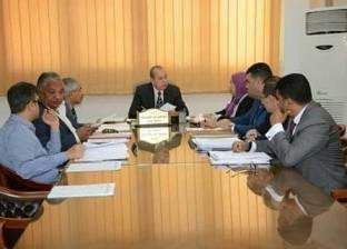 محافظ دمياط يترأس جلسة اجتماع مجلس إدارة المنطقة الاستثمارية الحرة