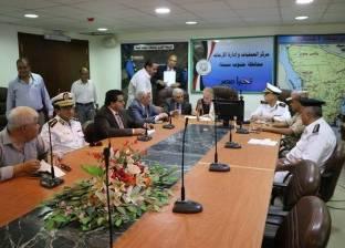 بالصور| اجتماع أمني استعدادا لامتحانات الثانوية العامة بجنوب سيناء