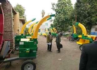 """بروتوكول تعاون بين """"البيئة"""" و""""الزراعة"""" لنقل آلات فرم مخلفات القصب"""