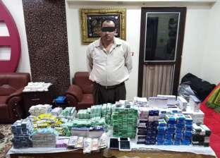 ضبط صيدلي بحيازته 68 ألف قرص مخدر و4 آلاف أمبول