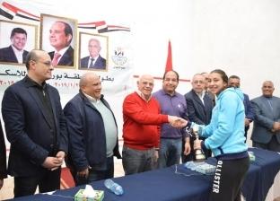 المحافظ يكرم أبطال الجمهورية للإسكواش ويعلن تنظيم بطولة دولية ببورسعيد