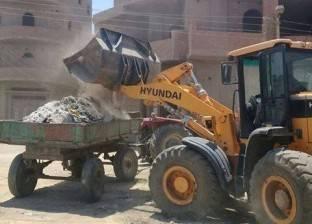 حملات نظافة في المنيا بمشاركة الشباب