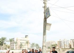 """""""القنطرة"""": رفع كفاءة مدخل المركز.. واعتمادات إضافية للكهرباء والرصف"""