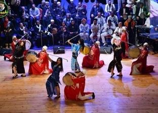 """""""الفنون الشعبية"""" بالغربية تشارك بعروض متنوعة في العيد القومي لبورسعيد"""