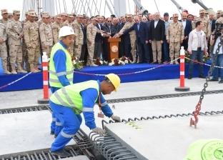 افتتاح محور روض الفرج بأكبر فتحة ملاحية ورصيف زجاجي بعد شهرين