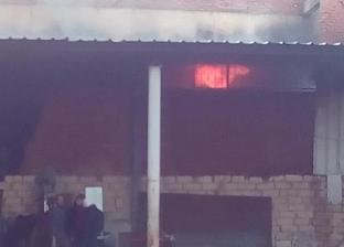 السيطرة على حريق نشب في محل أسماك بوسط العريش