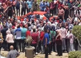 تظاهرة لطلاب ثانوي بالإسماعيلية ضد التابلت والشكوى من صعوبة الامتحانات