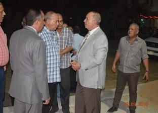 محافظ البحر الأحمر يتفقد أعمال التطوير بحي الوفاء في الغردقة