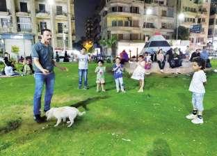 """""""حاوى مصر الجديدة"""": كلب فصيح ورقص على الطبلة"""