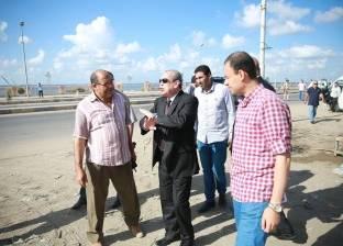 محافظ كفر الشيخ يتفقد سوق بلطيم القطاعي ويشدد برفع الإشغالات