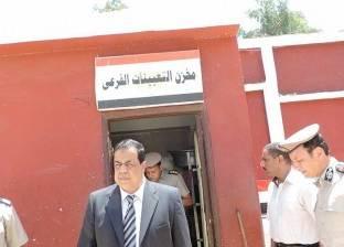 بالصور  مدير أمن كفر الشيخ يتفقد المنشآت وتأمين محطة كهرباء البرلس