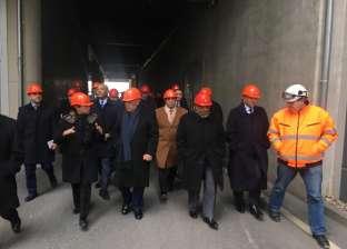 في ألمانيا.. وزراء الإنتاج الحربي والتنمية والبيئة والتصنيع داخل شركة إدارة مخلفات