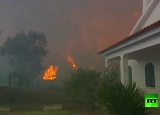 900 فرد و300 سيارة لإطفاء حرائق البرتغال