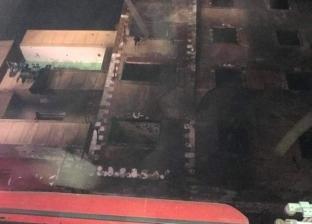متحدث القاهرة: إعادة سكان العقارات المجاورة لمنزل الزاوية المحترق