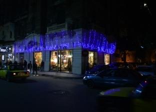 بالصور| احتفالات رأس السنة بشارع فؤاد في الإسكندرية: كأنك في أوروبا