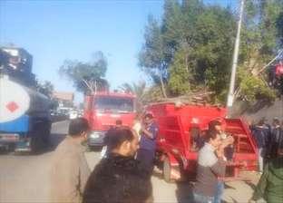 حريق محدود في محرقة مستشفى تمي الأمديد بالدقهلية