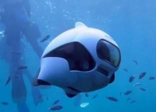 """بالفيديو  نجاح أول تجربة لسمكة """"درون"""" بالغوص تحت الماء"""
