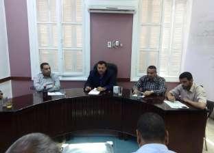 """رئيس """"نجع حمادي"""" يشدد على تنفيذ المشروعات الاستثمارية في موعدها"""