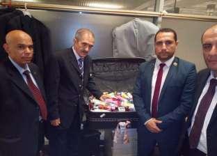 ضبط محاولة تهريب أدوات تجميل داخل علب قهوة وأحذية بمطار القاهرة