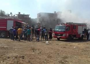 حريق في تشوينات أرز بالشرقية.. والدفع بـ5 سيارات إطفاء