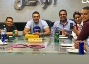 """محمد نور يشكر """"الوطن"""" على تكريمه لطرحه ألبوم """"مسا مسا"""""""