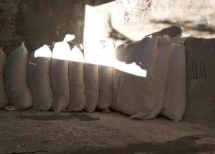 """""""تموين الفيوم"""": ضبط 660 كجم دقيق مدعم قبل تهريبه للسوق السوداء بسنورس"""