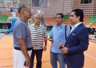 الاتحاد المصري للميني فوتبول يتفقد المدينة الرياضية بشرم الشيخ