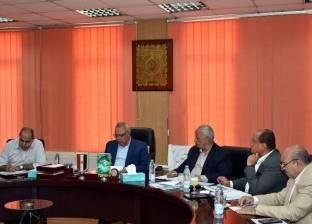 محافظ الشرقية يناقش نسب تنفيذ مشروعات الصرف الصحي