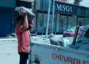 تحرير 206 محاضر إشغال خلال 3 أيام في أسيوط