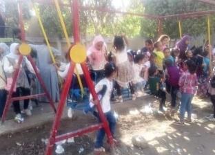 صور.. حدائق أسيوط تستقبل المواطنين في ثاني أيام عيد الأضحى