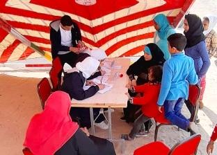 انطلاق القافلة الطبية المجانية بجبال وصحاري الغردقة لعلاج البدو