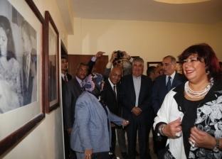 إيناس عبدالدايم تصل إلى شرم الشيخ لافتتاح قصر الثقافة