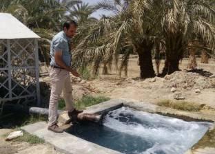 """""""الري"""": خطة لإحكام السيطرة على آبار المياه الجوفية في واحة سيوة"""