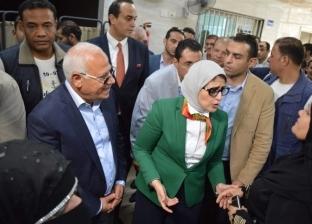 """محافظ بورسعيد: تزايد المترددين على نقاط المسح الطبي لـ""""فيروس سي"""""""