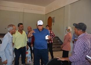 محافظ الوادي الجديد يتفقد القطاعات الخدمية في بولاق