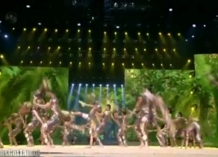 """فريق """"جلهوم"""" يبهر لجنة تحكيم Arabs Got Talent بالعرض الأخير"""