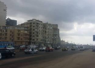 """""""الري"""": أمطار غزيرة على السواحل والإسكندرية"""