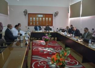 محافظ الوادي الجديد يشهد اجتماع مجلس الجامعة