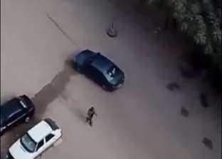 فيديو جديد.. أخطر 10 دقائق من الهجوم الإرهابي في حلوان
