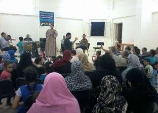 حفل إنشاد إسلامي وترانيم قبطية على مسرح محافظة المنيا