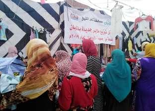 """بالصور  """"أورمان كفر الشيخ"""" توزع 1500 قطعة ملابس على غير القادرين"""