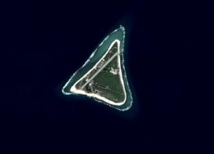 بالفيديو| اختفاء جزيرة يابانية من الأقمار الصناعية