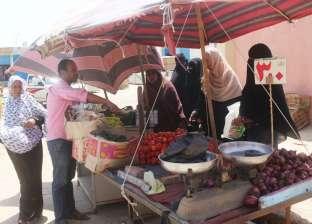 تجديد شبكات المياه والصرف وتطوير سوق الحبشي في المنيا