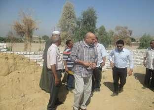 رئيس مدينة الطود يتفقد مخرات السيول